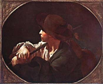 Shepherd Boy by Giovanni Battista Piazzetta