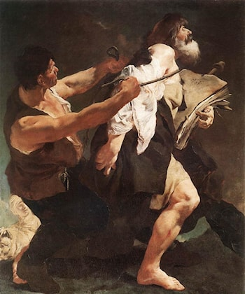 St James Brought to Martyrdom by Giovanni Battista Piazzetta