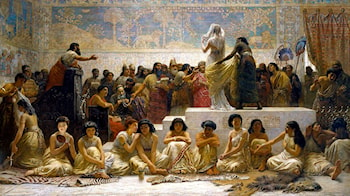 The Babylonian Marriage Market by Edwin Longsden Long