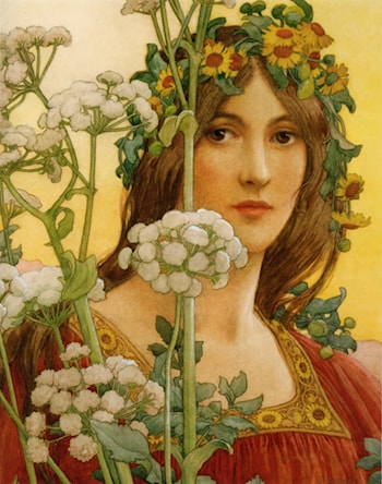 Our Lady of Cow Parsley by Elisabeth Sonrel