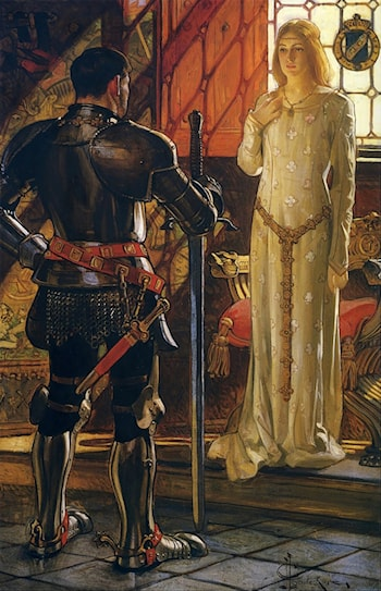 Sir John and Lady Sybil by Joseph Christian Leyendecker