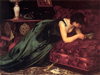 The Love Letter by Emile Levy