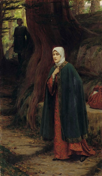 Forest Tryst by Edmund Blair Leighton