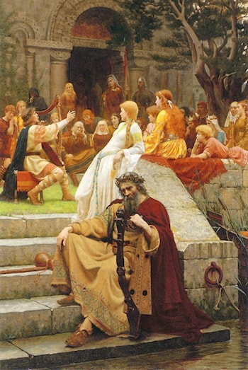 Fame by Edmund Blair Leighton