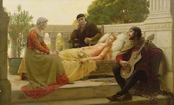 How Liza Loved the King by Edmund Blair Leighton