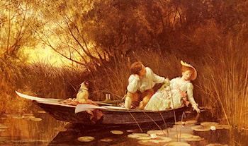 Simpletons, The Sweet River by Luke Fildes