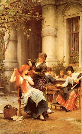 Alfresco by Luke Fildes