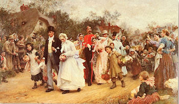 The Wedding by Luke Fildes