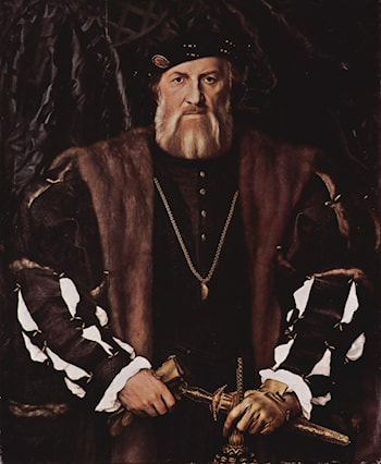 Portrait of Charles de Solier, Lord of Morette by Hans Holbein
