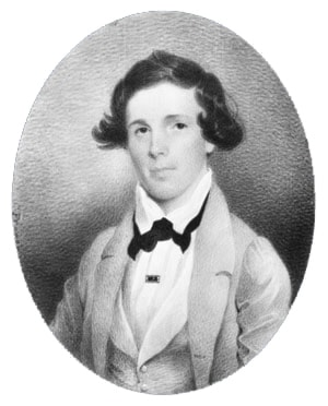 Lawrence Augustus Edmondston by Charles Fraser
