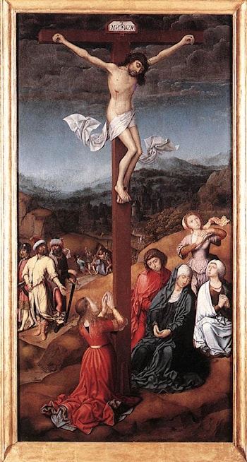 Crucifixion by Jan Provost