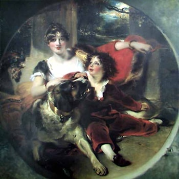Mrs Maguire and her Son by Sir Thomas Lawrence