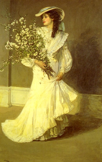 Spring by John Lavery