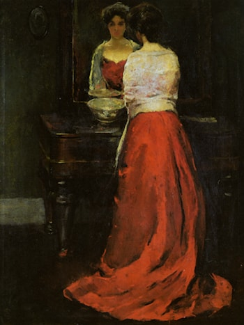 Lady in Red by Charles Webster Hawthorne