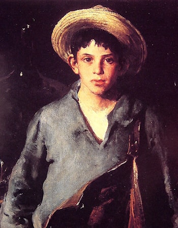 Portugese Fisherboy by Charles Webster Hawthorne