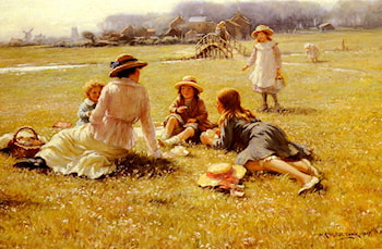 A Picnic Party by William Kay Blacklock