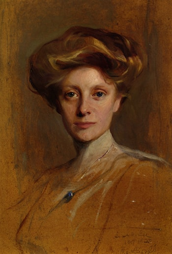 Portrait of Miss Faith Moore by Philip Alexius de Laszlo