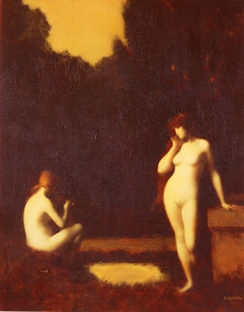 Idyll by Jean-Jacques Henner