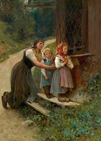 Early Lessons by Sir Hubert von Herkomer