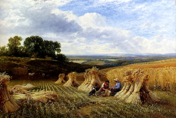 Harvest Field by George Cole, Snr.