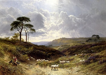 Near Liss, Hampshire by George Cole, Snr.