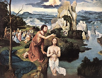 Baptism of Christ by Joachim Patenier (Patinir)