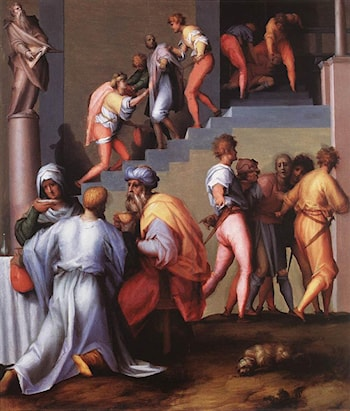 Punishment of the Baker by Jacopo Pontormo