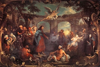 The Pool of Bethesda by William Hogarth