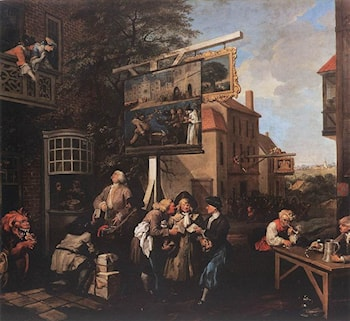 Soliciting Votes by William Hogarth