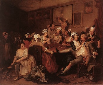 The Orgy by William Hogarth