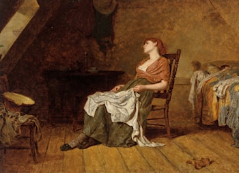 Far Away Thoughts by Frank Holl