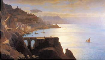 Amalfi Coast by William Stanley Haseltine