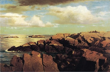 After a Shower, Nahant, Massachusetts by William Stanley Haseltine