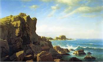Nahant Rocks by William Stanley Haseltine