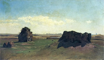Torre degli Schiavi, Campagna Romana by William Stanley Haseltine