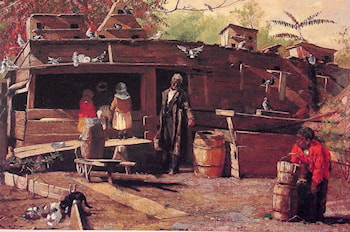 Uncle Ned at Home by Winslow Homer
