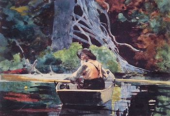 The Adirondack Guide by Winslow Homer