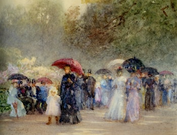 Hyde Park in May by Rose Barton