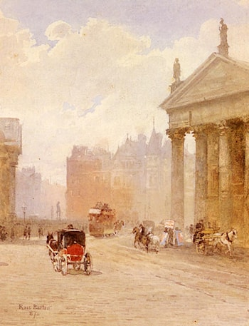 College Green, Dublin by Rose Barton