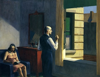 Hotel By A Railroad by Edward Hopper