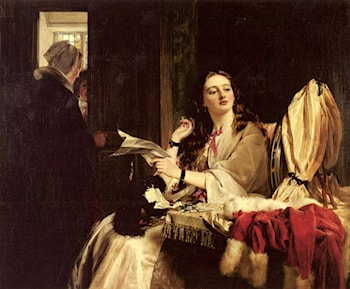St. Valentine's Day by John Callcott Horsley