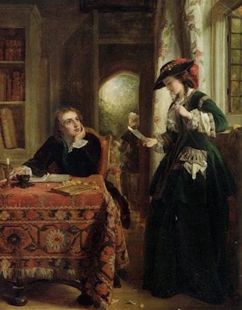 The Poets Theme by John Callcott Horsley