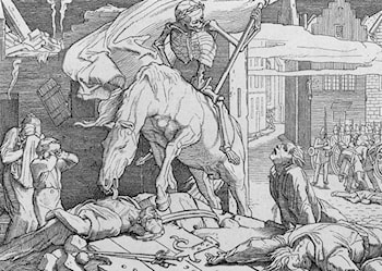 Death on the Barricades by Alfred Rethel