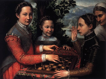 The Chess Game by Sofonisba Anguissola