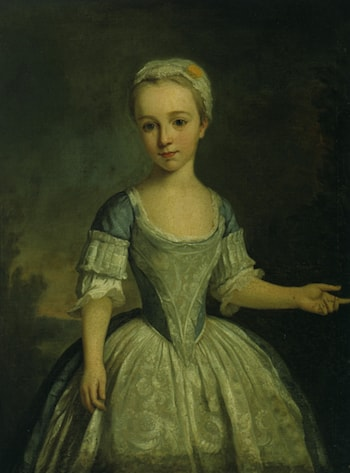 Portrait of a Young Girl by Bartholomew Dandridge