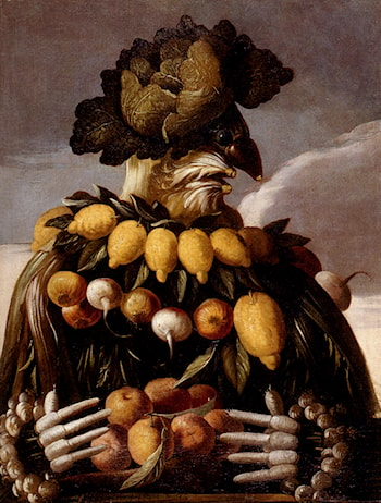 The Seasons Pic 1 by Giuseppe Arcimboldo