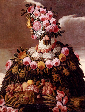The Seasons Pic 2 by Giuseppe Arcimboldo