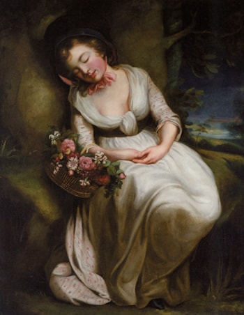 The Flower Girl by James Northcote