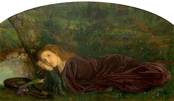 The Rift within the Lute by Arthur Hughes