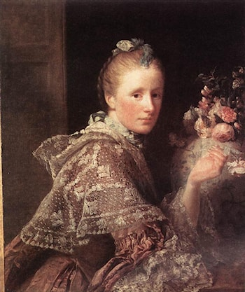 Portrait of the Artist's Wife by Allan Ramsay
